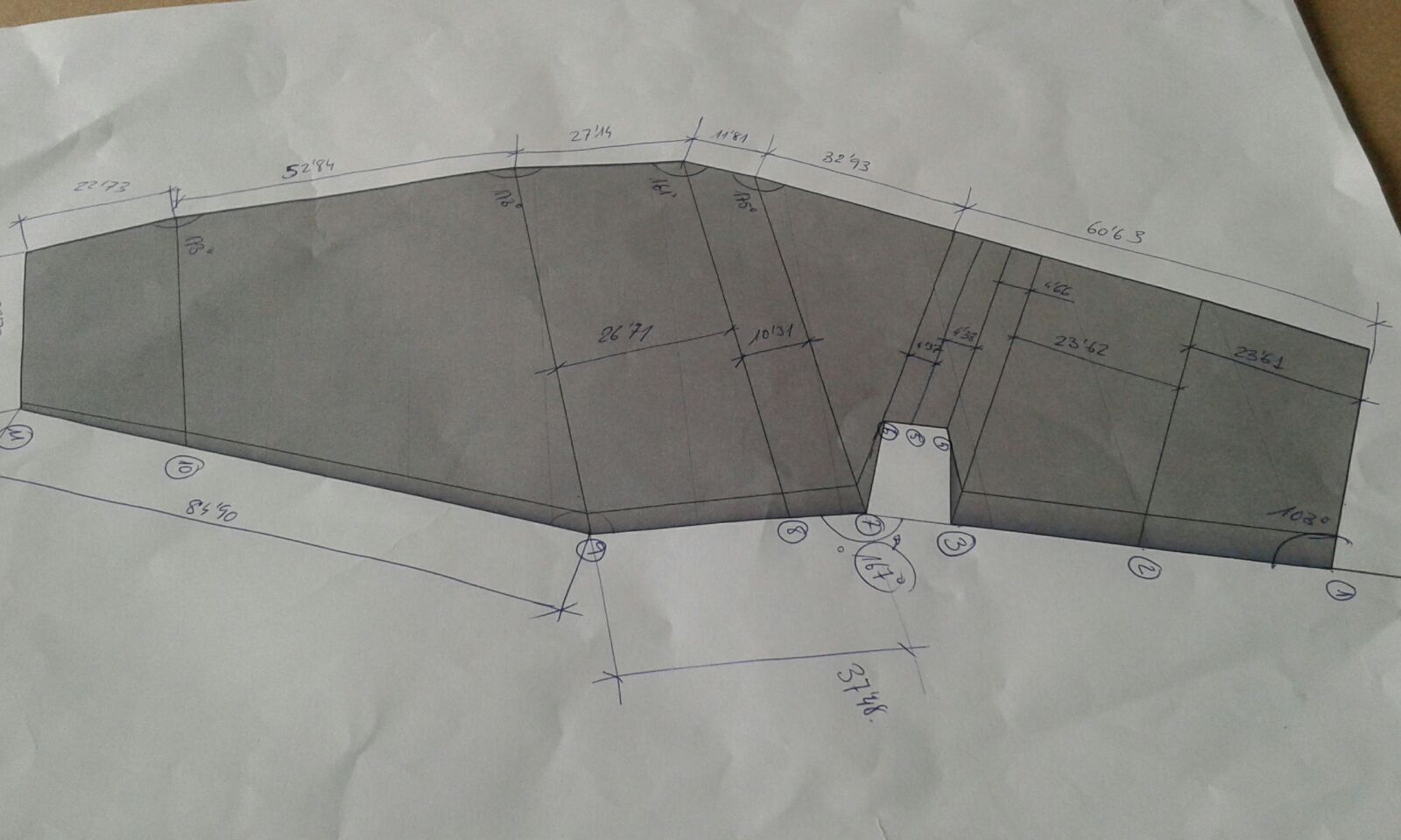 CONSTRUCCIÓN DE TIMÓN A PARTIR DE PLANO