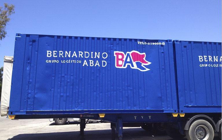 PINTADO CONTENEDORES BERNARDINO ABAD